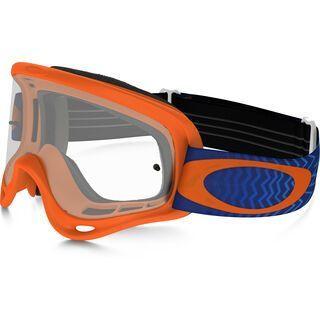 Oakley O Frame MX, shockwave orange/blue/Lens: clear - MX Brille