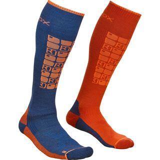 Ortovox Merino Ski Compression Socks M night blue