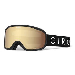 Giro Moxie inkl. WS, black core light/Lens: amber gold - Skibrille