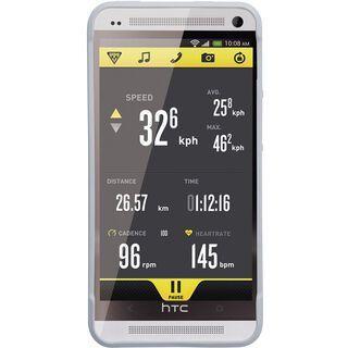 Topeak RideCase HTC One mit Halter, white - Schutzhülle