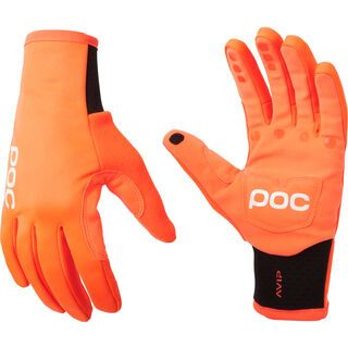 POC AVIP Softshell Glove, zink orange - Fahrradhandschuhe