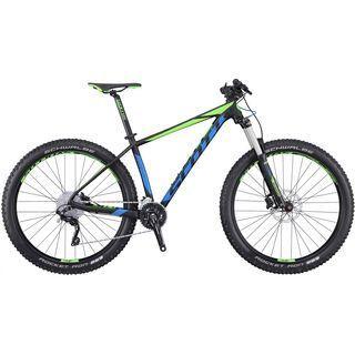 Scott Scale 720 Plus 2016, black/blue/green - Mountainbike