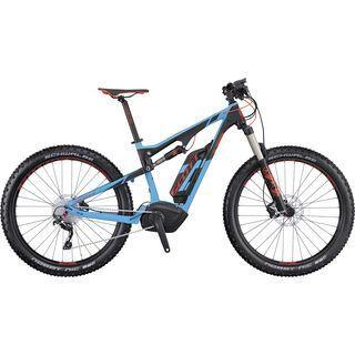 Scott E-Genius 720 Plus 2016, blue/black/red - E-Bike