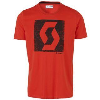 Scott Trail MTN DRI Icon s/sl Shirt, fiery red - Funktionsshirt