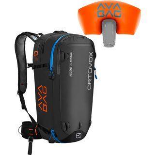 Ortovox Ascent 30 Avabag Kit, ohne Kartusche, black anthracite - Lawinenrucksack