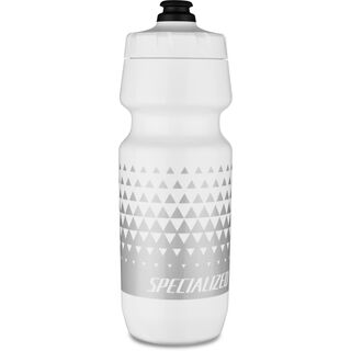 Specialized 24 oz Big Mouth Bottle, white/metallic silver - Trinkflasche