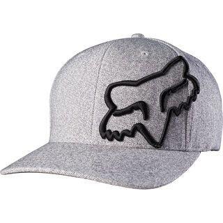 Fox Never Decline Flexfit Hat, heather grey - Cap