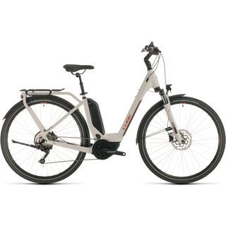 Cube Touring Hybrid Pro Easy Entry 2020, grey´n´red - E-Bike