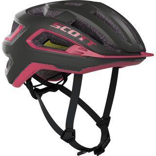 Scott Arx Plus Helmet, dark grey/pink - Fahrradhelm