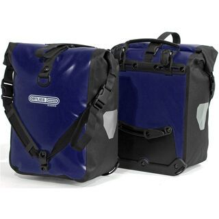 Ortlieb Front-Roller Classic, blau-schwarz - Fahrradtasche