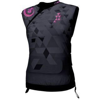 amplifi Cortex Polymer Jacket Women, black rose - Protektorenweste