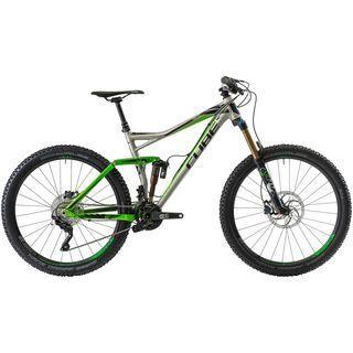 Cube Fritzz 160 HPA TM 27.5 2014, raw/green - Mountainbike