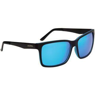 Alpina Don Hugo, black matt blue/Lens: ceramic mirror blue - Sonnenbrille