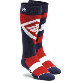 100% Torque Comfort Moto Socks, red - Radsocken