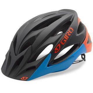 Giro Xar, matt black/glowing red/blue - Fahrradhelm