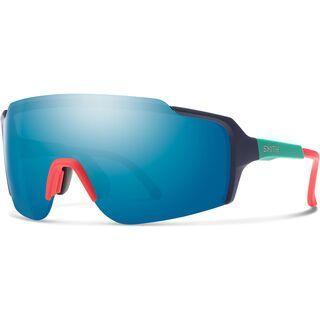 Smith Flywheel, matte deep ink/Lens: chromapop blue mirror - Sportbrille