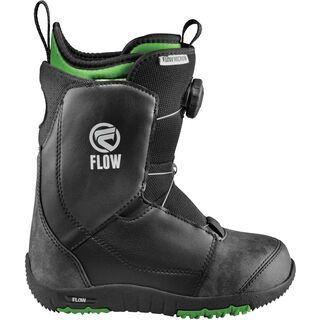 Flow Micron Boa 2017, black - Snowboardschuhe