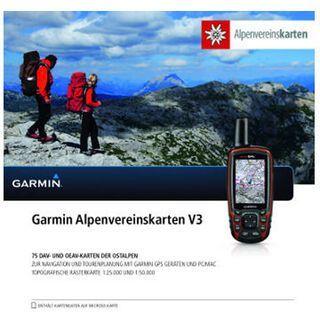 Garmin Alpenvereinskarten V3 (microSD/SD) - Karte