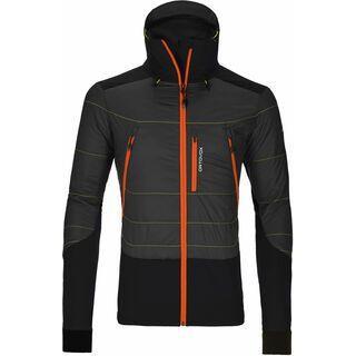 Ortovox Merino Swisswool Jacket Piz Palü, black steel - Thermojacke