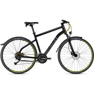 Ghost Square Cross X 3.8 AL 2018, black/gray/neon yellow - Fitnessbike