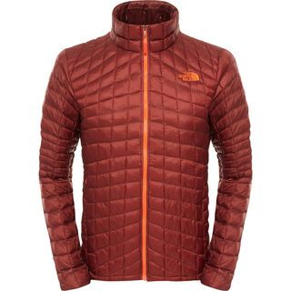 The North Face Mens ThermoBall Full Zip Jacket, sequoia red - Thermojacke