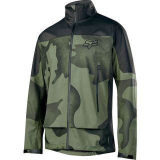 Fox Attack Water Jacket, fatigue camo - Radjacke