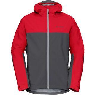 Vaude Men's Moab Rain Jacket, iron - Radjacke