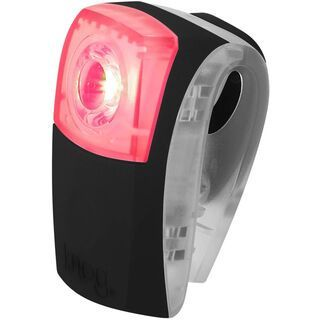 Knog Wearable Boomer, rote LED, schwarz - Beleuchtung