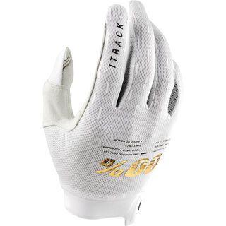 100% iTrack Glove, white - Fahrradhandschuhe