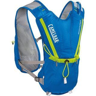Camelbak Marathoner Vest inkl. Trinksystem, electric blue/lime punch - Trinksystem