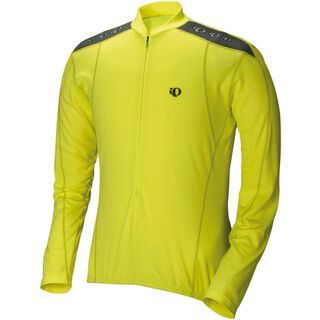 Pearl Izumi Quest Long Sleeve Jersey, Screaming Yellow - Radtrikot