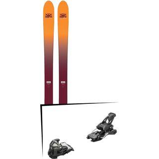 Set: DPS Skis Wailer F99 Foundation 2018 + Tyrolia Attack 14 AT solid black
