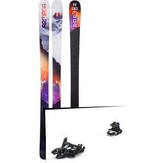 Set: Armada Victa 83 2018 + Marker Alpinist 9 black/titanium
