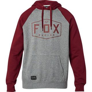 Fox Crest Pullover Fleece, heather graphite - Hoody