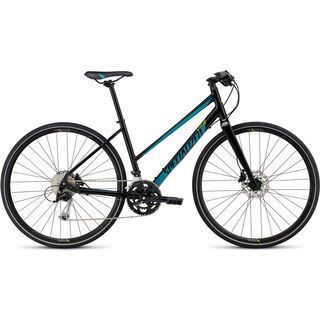 Specialized Vita Sport Step Through 2017, blue/turquoise/hy green - Fitnessbike