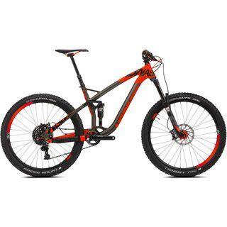 NS Bikes Snabb T1 2016, black/red - Mountainbike