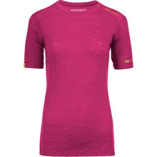 Ortovox 105 Merino Ultra Short Sleeve W, dark very berry - Unterhemd