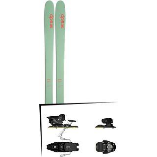DPS Skis Set: Cassiar 95 Hybrid T2 2016 + Salomon Warden MNC 13