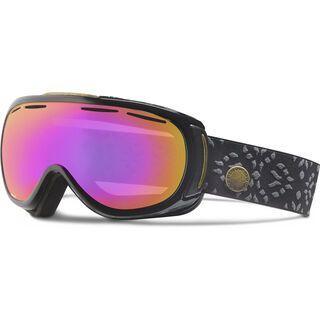Giro Amulet, black laurel/Lens: amber pink - Skibrille
