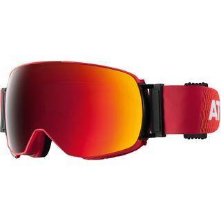 Atomic Revent Q ML inkl. Wechselscheibe, orange/Lens: red multilayer - Skibrille