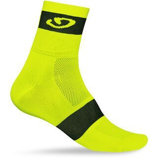 Giro Comp Racer, yellow/black - Radsocken