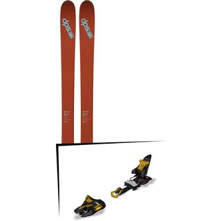 DPS Skis Set: Wailer 105 Pure3 2016 + Marker Kingpin 13