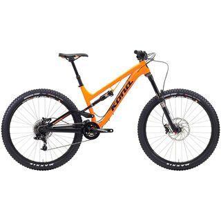 Kona Process 153 2015, matt orange/black - Mountainbike