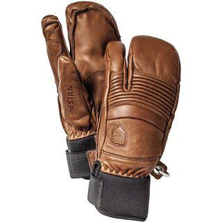 Hestra Leather Fall Line 3 Finger, brown - Skihandschuhe