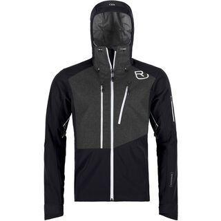 Ortovox Merino Naturtec Plus Pordoi Jacket M, black raven - Softshelljacke