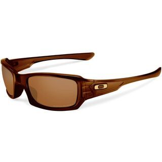 Oakley Fives Squared, Polished Rootbeer/Bronze Polarized - Sonnenbrille