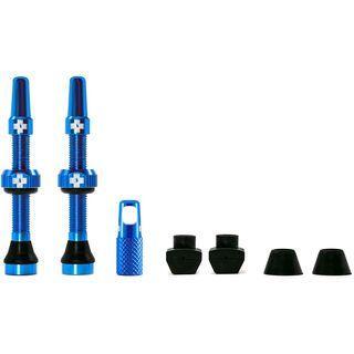 Muc-Off Tubeless Presta Valve - 44 mm blue