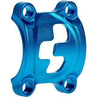 Cube Front Plates - Vorbauklemme, blue - Zubehör