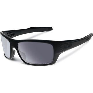 Oakley Turbine, matte black/grey polarized - Sonnenbrille