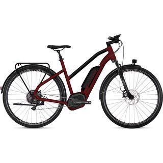 Ghost Hybride Square Trekking B8.8 W AL 2018, red/black - E-Bike
